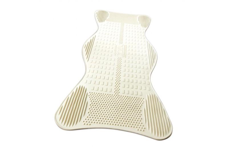 Tapis de bain avec zones de massage